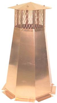 Octagon Chimney Pot Copper Copper Roofing