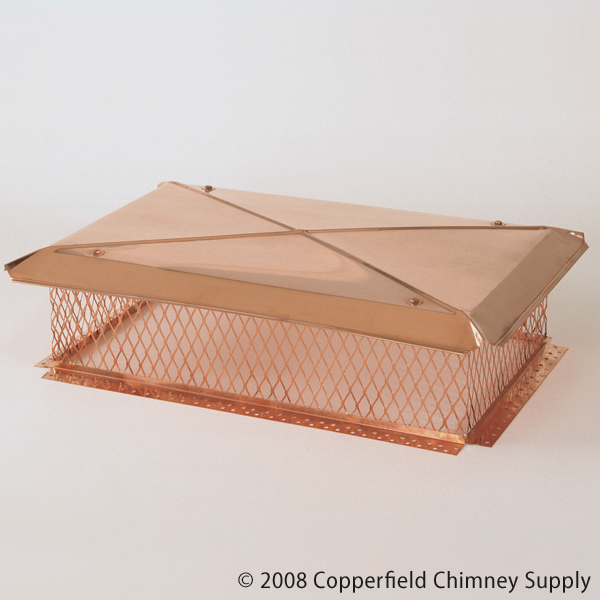 Gelco Model B 17 In X 17 In Base Copper Multi Flue
